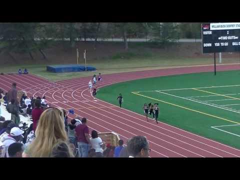 Chamblee Middle School Girls 4:21.74s 4x400m Finals Dekalb County Championship 2017