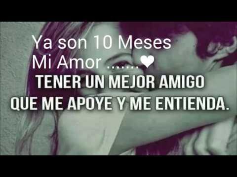 10 Meses de novios... Enrique A & Sandra C ... Te Amo