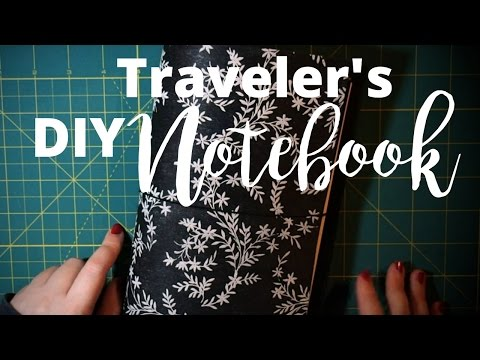 DIY Traveler's Notebook PART 1