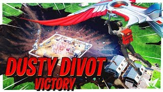 NEW Dusty Divot Victory! The Meteor Destroyed Dusty & NEW Low Gravity Hop Rocks! - Fortnite Gameplay