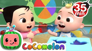The Jello Color Song  + More Nursery Rhymes & Kids Songs - CoComelon
