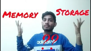 Memory vs storage | difference between memory and storage | tech support | Tips and tricks