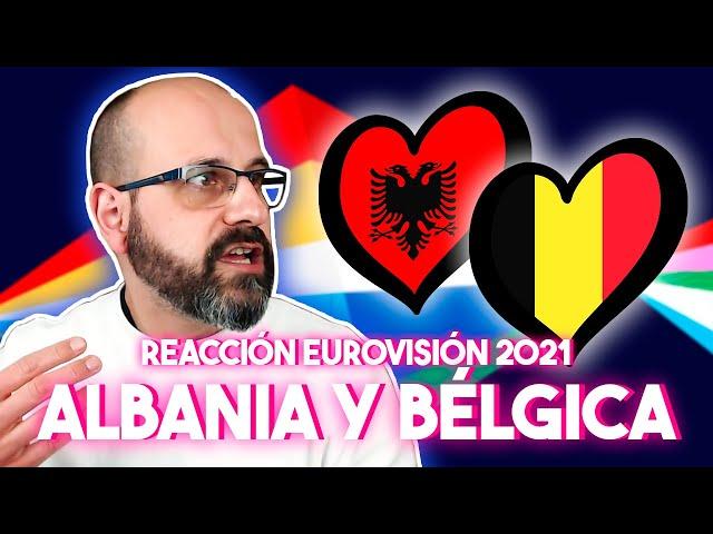 💜 REACCIÓN EUROVISIÓN 2021: ALBANIA Y BÉLGICA | La subred de Mario