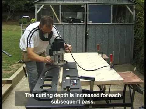 Favorit Frässchablone für Küchenarbeitsplatte - Einfach praktisch in der RS08