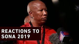 Politicians react to Ramaphosa