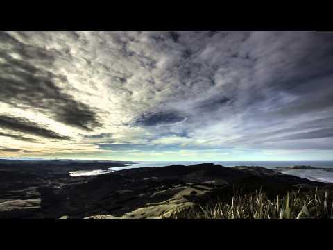Mt Cargill Dunedin New Zealand timelapse
