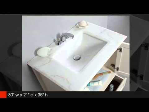Chelsea 24 and 30 in. Bathroom Vanity