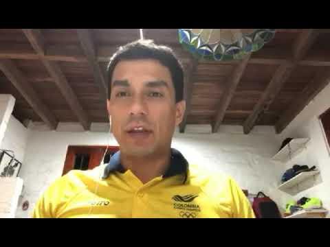 Bernardo Tovar, gloria del tiro colombiano, atrancado en Brasil