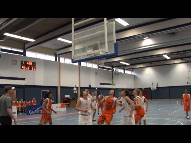 Nationaal team U18 vs Macedonië (april 2010)