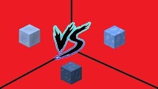 Minecraft Which Is The Fastest Ice Vs Packed Ice Vs Blue Ice Ist das eine schneller als das andere oder ist es egal, welches der beiden man benutzt? fastest ice vs packed ice vs blue ice