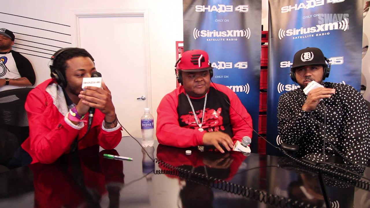 2014 #SwaySXSW - Problem, Fred The Godson & The Boy Illinois Freestyle! | Sway's Universe
