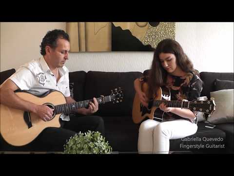 (Sting) Shape Of My Heart - Gabriella Quevedo & Sergio Quevedo