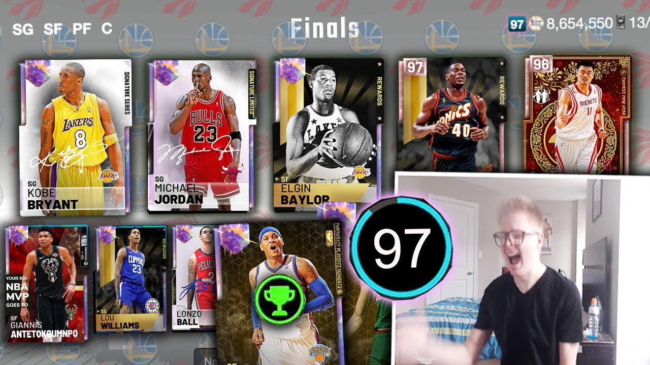 I Got The Impossible 97 Rated Draft On My First Try Crazy Nba Finals Draft And Play Nba 2k19 Youtube