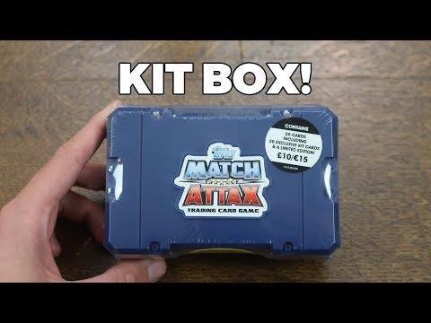 KIT BOX OPENING! Match Attax 2017/18