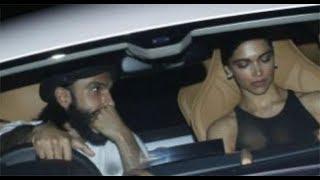 Birthday Boy Ranveer Singh takes Ladylove Deepika Padukone on a Drive In His New Car| SpotboyE