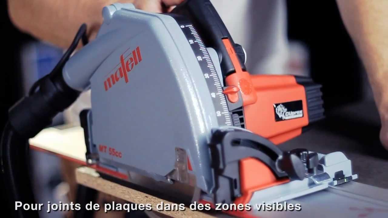 mafell scie plongeante mt 55 cc - youtube