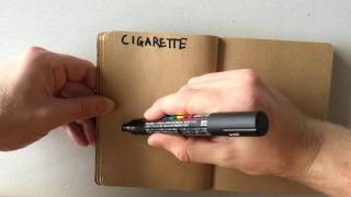 How to Draw a Cigarette
