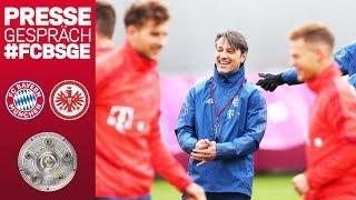 Erstes Endspiel wohl ohne Neuer und James | Niko Kovac vor dem Meisterschaftsfinale
