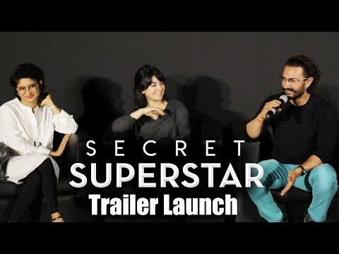 Secret Superstar का Trailer Launch | Aamir Khan, Zaira Wasim, Kiran Rao