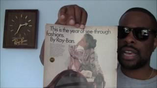 Vintage B&L Ray-Ban Limited Edition Wayfarer 1969 Sunglasses