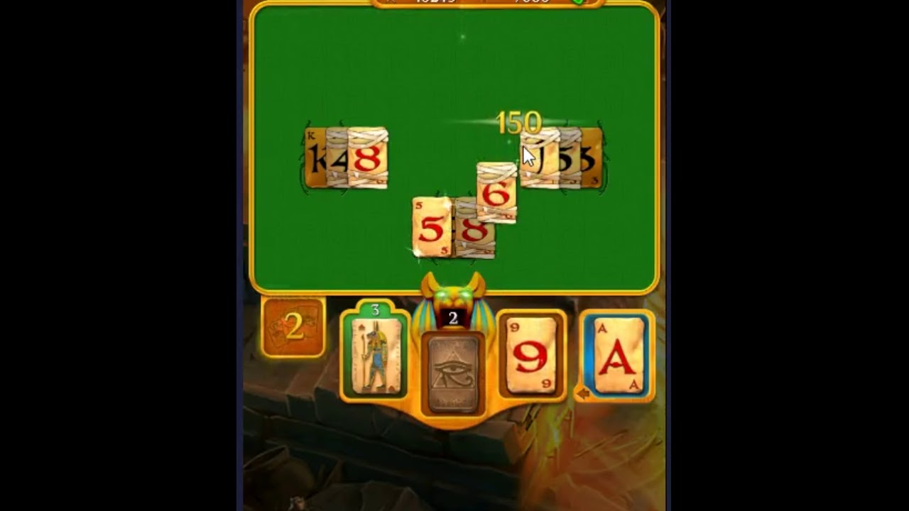 Pyramid Solitaire Saga Level 556 No Boosters Youtube