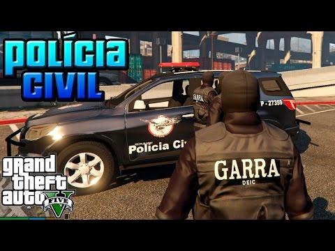 GTA V: Polícia Civil - GARRA (Parte 2)