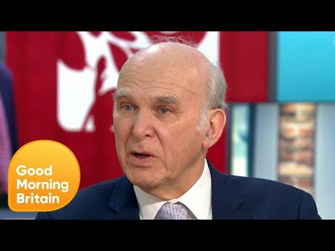 Sir Vince Cable on Honda Closures and an Alliance With The Independent Group | Good Morning Britain