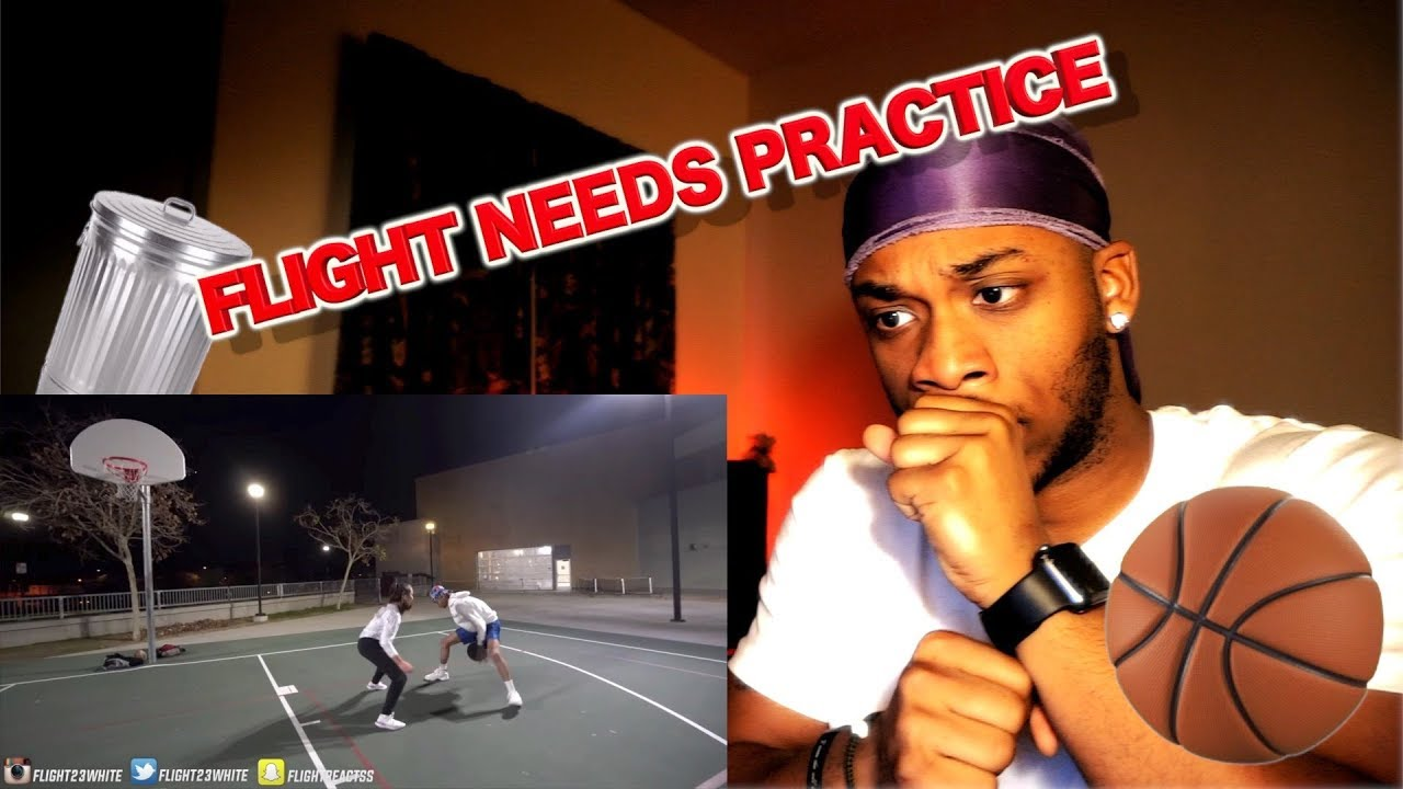 Download FLIGHT GETS MAJORLY EXPOSED BY A FEMALE HOOPER! 1v1 Basketball | REACTION