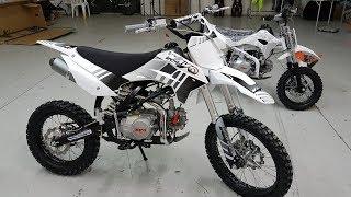 Papà costruisce UNA NUOVA MOTO PER SUPER ALEX, KAYO racing PIT BIKE 110 🏍️