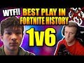 Mechs VAULTED? ZexRow 1v6 Tfue Cloakzy 72 Pika Rhux.. GREATEST PLAY OF ALL TIME?