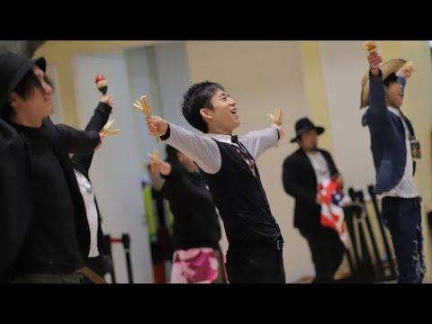 SNSで総踊り「SOUL OF FIRE」produced By Rakuen