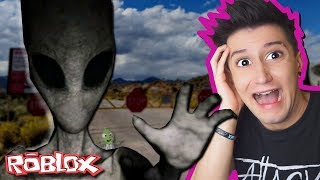 I GOT INTO AREA 51 AND THIS HAPPENED 😱! (Roblox-Area 51)