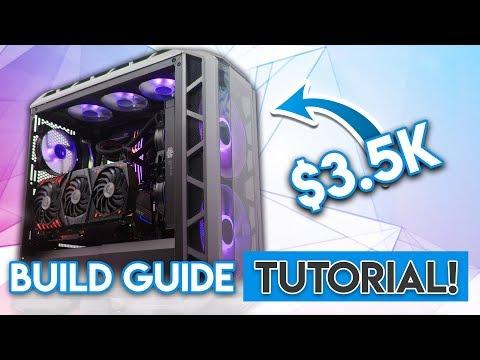 How to Build an INSANE $3500 Gaming PC! [i7 8700K, GTX 1080Ti!]