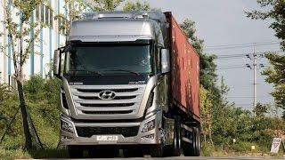 Hyundai Xcient driving impression