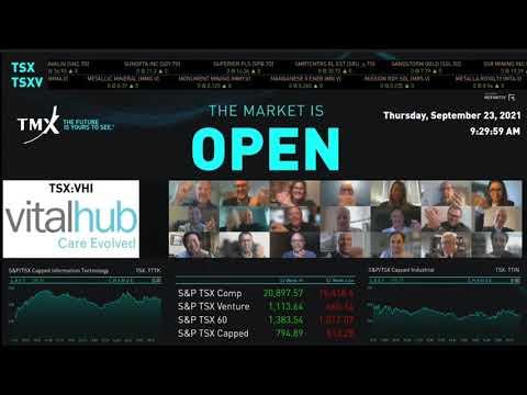 VitalHub Virtually Opens the Market