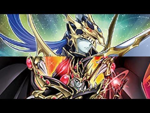 Gaia The Fierce Knight Vs Red Eyes Dark Magician