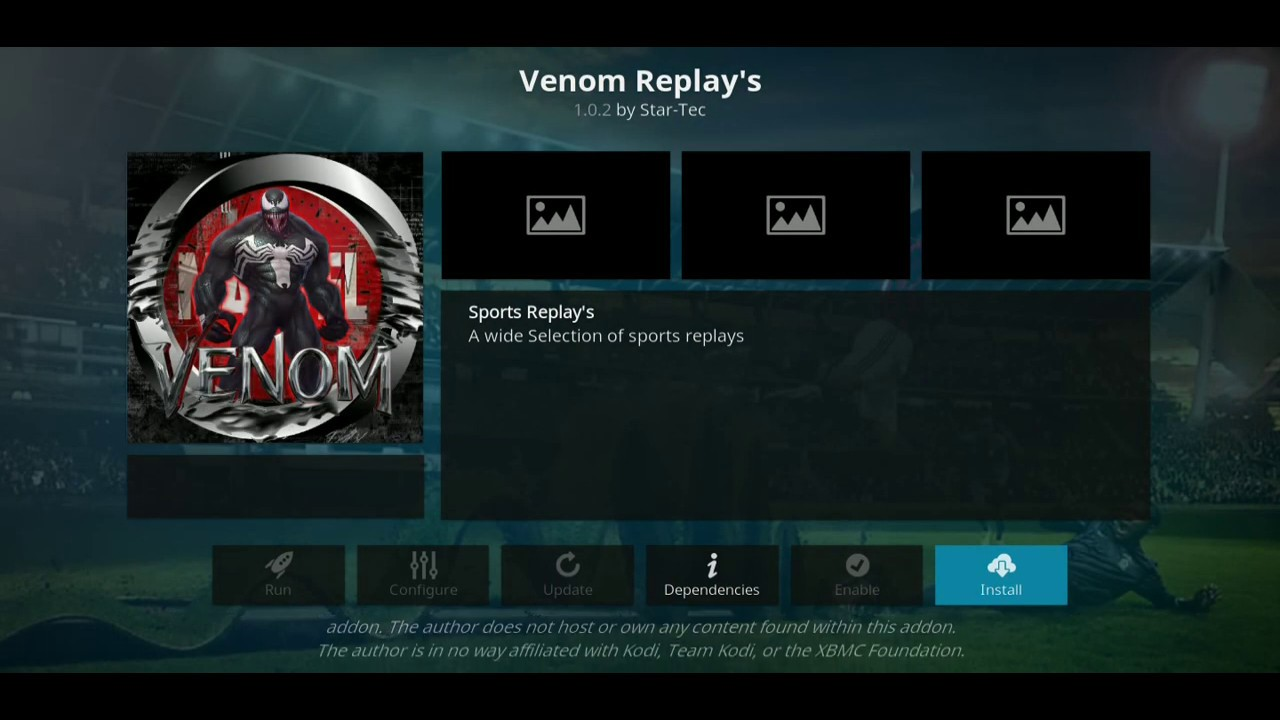 2019 march!!! new update how to install Venom Replays kodi sports addon in l