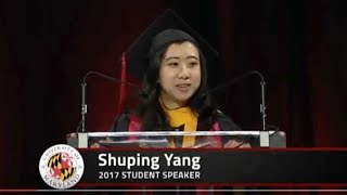 Why is the Maryland commencement speech stirring our emotions? thumbnail