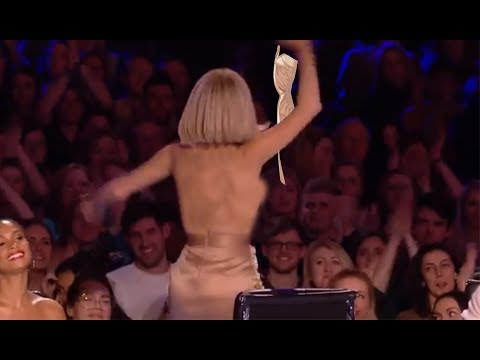 OMG Amanda ...!  Britain's Got More Talent 2017