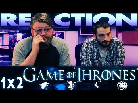 Game Of Thrones 1x2 REACTION!!