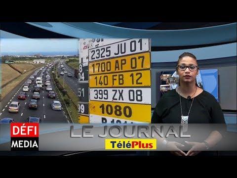Le Journal Téléplus - 10,000 voitures vendues, les plaques d'immatriculation devront être modifiées