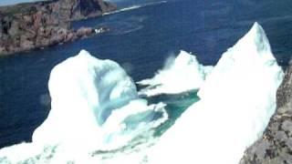 Foundering Iceberg in Twillingate Newfoundland