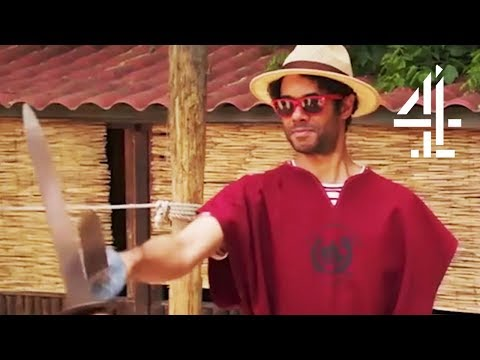 Richard Ayoade & Matt Lucas Train to be Gladiators in Rome | Travel Man