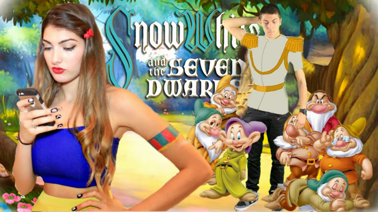 disney princesses in real life diy snow white youtube - Disney Princess Halloween Costumes Diy