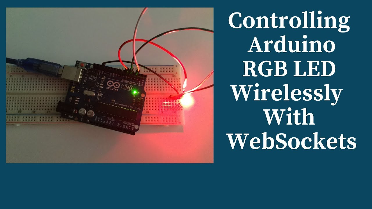 How to control arduino wirelessly with WebSockets and Johnny