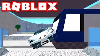 DESTROYING MY SUPER CAR IN ROBLOX! (Roblox Vehicle Simulator)
