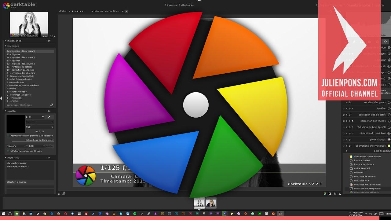 Installer Darktable 2 2 sous Windows 10 64bits via le sous système Ubuntu  16 04