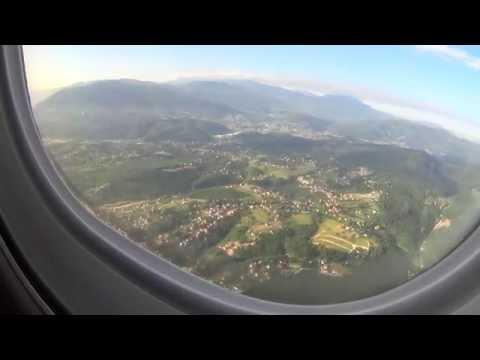 Sarajevo Airport - Landing