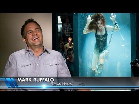 Jesse Eisenberg 'Now You See Me' Interviews & Magic (Mark Ruffalo, Woody Harrelson)
