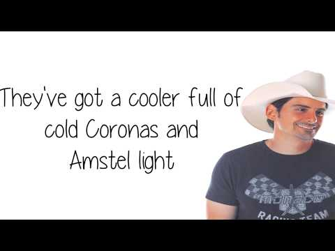 American Saturday Night Lyrics - Brad Paisley